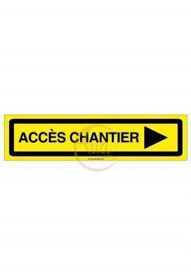 PANNEAU KD ACCES CHANTIER AKILUX 5 mm -800 x 200 mm DROITE