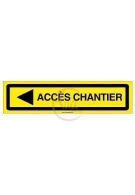 PANNEAU KD ACCES CHANTIER AKILUX 5 mm -800 x 200 mm GAUCHE