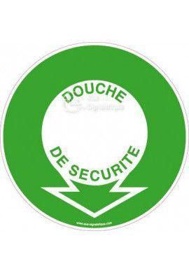 Panneau Localisation Douche de Sécurité