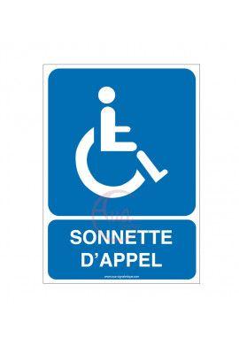Panneau Sonnette D'appel Rampe d'accès - AI