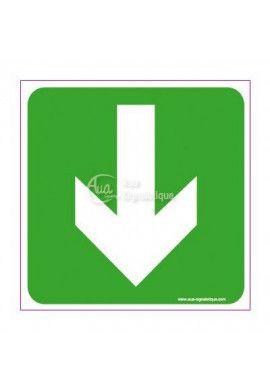 Panneau Flèche directionnelle en bas