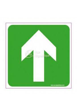 Panneau Flèche directionnelle en haut