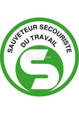 Panneau Sauveteur Secouriste du Travail