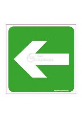 Panneau Flèche directionnelle gauche