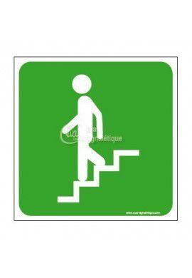 Panneau Escalier-Des-Secours - CA
