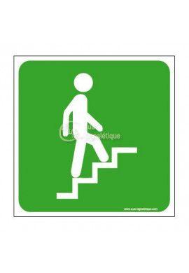 Panneau Escalier-Mont-Secours - CA