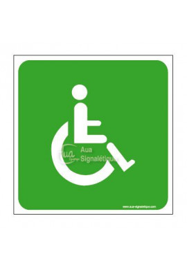 Panneau Handicapé Evac - CA