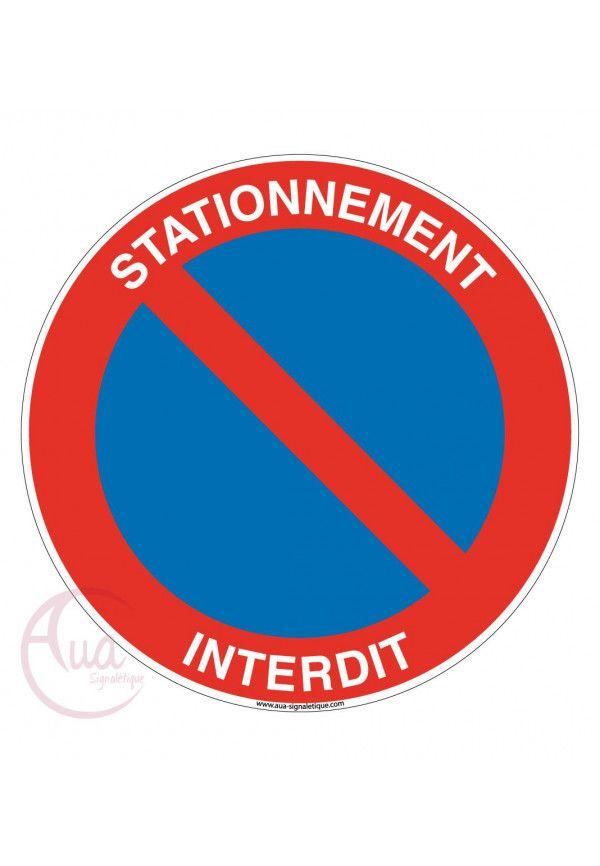 Panneau Stationnement interdit 02