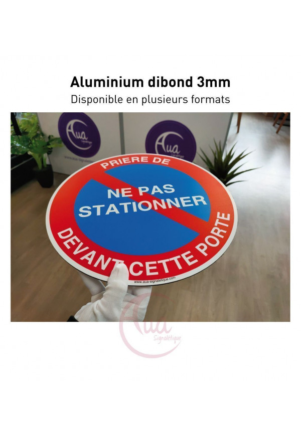 Panneau Stationnement Interdit, Sortie Jour et Nuit 24h/24