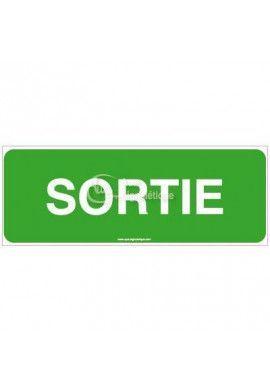 Panneau Sortie-B