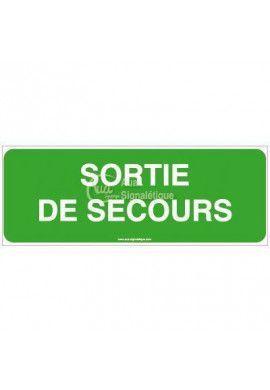 Panneau Sortie de Secours-B