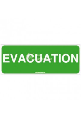 Panneau Évacuation-B