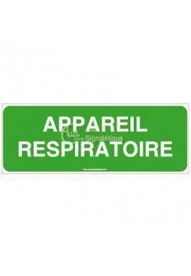 Panneau Appareil respiratoire-B