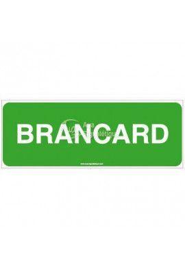 Panneau Brancard Horizontal
