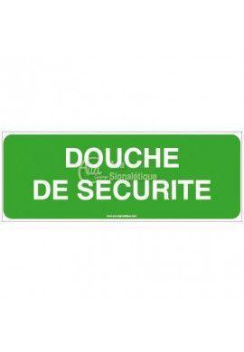 Panneau Douche de sécurité-B
