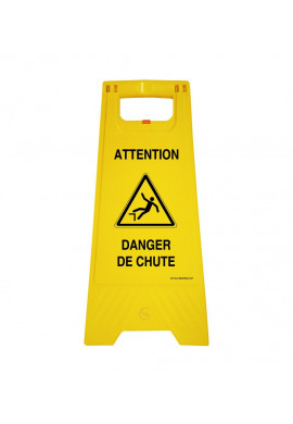 Balise Chevalet de signalisation danger chute