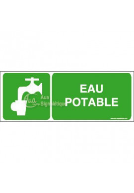Panneau Eau Potable - B