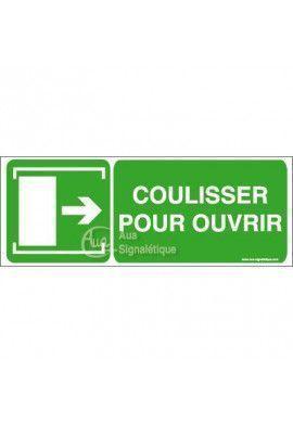 Panneau Coulisser pour ouvrir - Dr - B