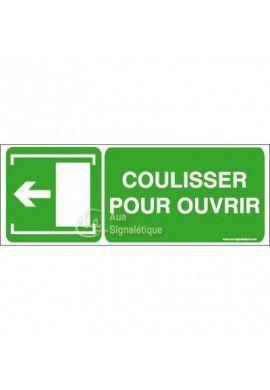 Panneau Coulisser pour ouvrir - Gau - B