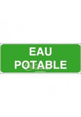 Panneau Eau potable-B