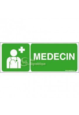 Panneau Médecin-B