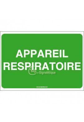 Panneau Appareil respiratoire - AP