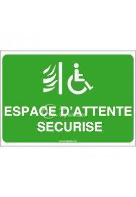 Panneau Espace d'attente sécurisé - AP
