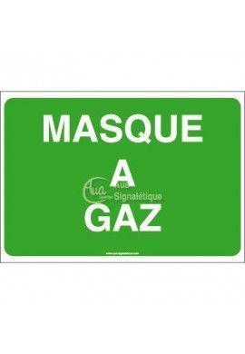 Panneau Masque à gaz - AP