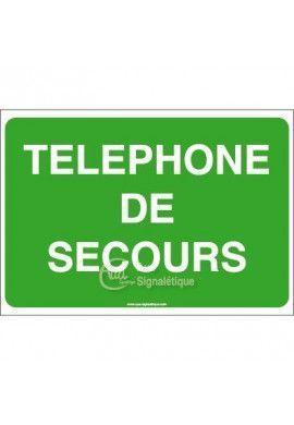Panneau Téléphone de secours - AP