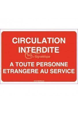 Panneau Circulation Interdite A Toute...