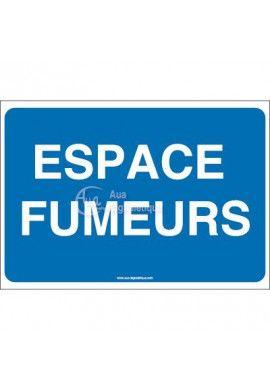 Panneau Espace fumeurs-AP