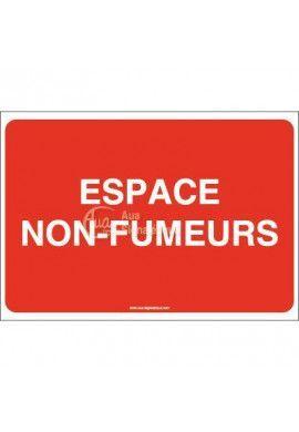 Panneau Espace non fumeurs-AP