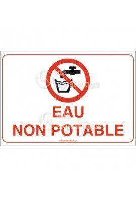 Panneau Eau Non Potable - AP