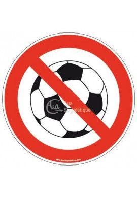 Panneau Ballon interdit