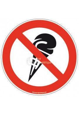 Panneau Glace interdite