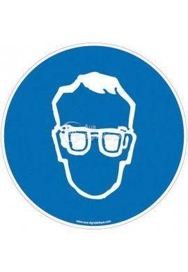 Panneau Protection obligatoire de la vue