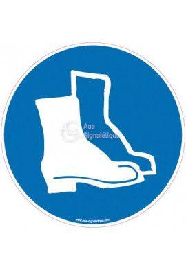 Panneau Port obligatoire des chaussures de sécurité