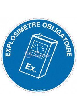 Panneau Explosimetre Obligatoire