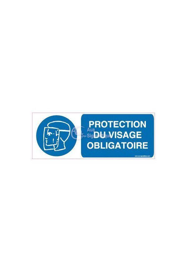 Panneau Protection du Visage obligatoire