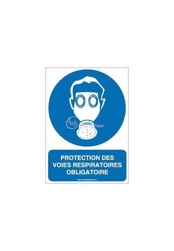 Panneau Protection des Voies Respiratoires Obligatoire - Verti 1e9329b5b389
