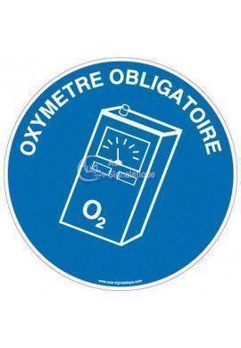 Panneau Oxymetre Obligatoire