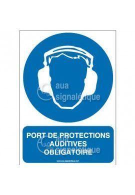 Panneau Port des Protections Auditives Obligatoire 02