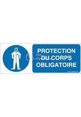 Panneau Protection du Corps Obligatoire