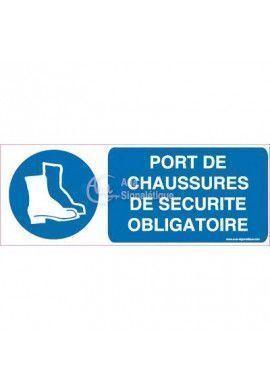 Panneau Port de Chaussures de Sécurité Obligatoire-H