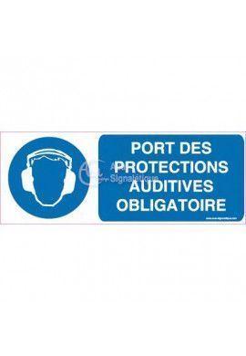 Panneau Port des Protections Auditives Obligatoire