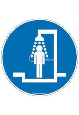 Panneau douche obligatoire