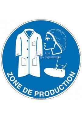 Panneau zone de production