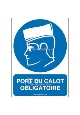 Panneau Port du calot obligatoire-AI