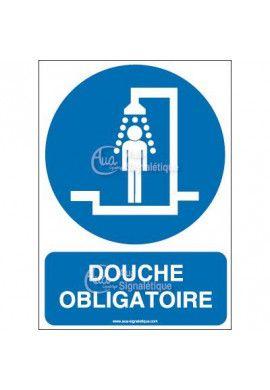 Panneau Douche obligatoire-AI