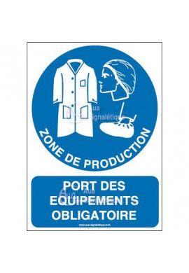 Panneau Port des équipements obligatoire-AI